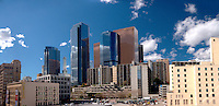 Downtown L.A. Skyrise Buildings, Los Angeles, California