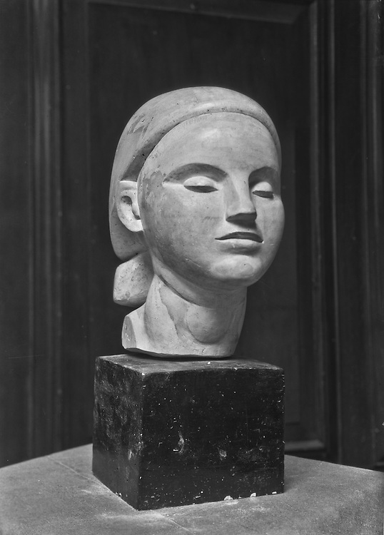 Saul Baizerman, sculpture, Russia, USA, 1924