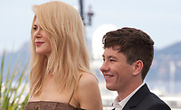 Barry Keoghan and Nicole Kidman at the The Killing of a Sacred Deer  film photo call at the 70th Cannes Film Festival Monday 22nd May 2017, Cannes, France. Photo credit: Doreen Kennedy