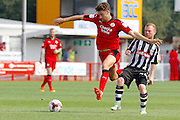 Crawley Town defender Alex Davey (5) pushes forward during the EFL Sky Bet League 2 match between Crawley Town and Notts County at the Checkatrade.com Stadium, Crawley, England on 27 August 2016. Photo by Andy Walter.