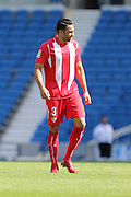 Emil Rami of Sevilla during the Pre-Season Friendly match between Brighton and Hove Albion and Sevilla at the American Express Community Stadium, Brighton and Hove, England on 2 August 2015. Photo by Stuart Butcher.