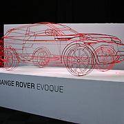 NLD/Amsterdam/20101212- Enkele stands op de Miljonairfair 2010, stand Range Rover