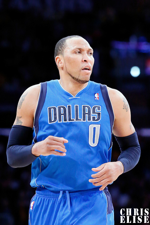 04 April 2014: Dallas Mavericks forward Shawn Marion (0) is seen during the Dallas Mavericks 107-95 victory over the Los Angeles Lakers at the Staples Center, Los Angeles, California, USA.