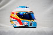 March 27-29, 2015: Malaysian Grand Prix - Fernando Alonso (SPA), McLaren Honda, helmet detail