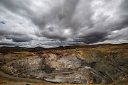 La Quinua gold open pit, one of Yanacocha's largest in Yanacocha's mine, Peru, Friday, October 16, 2015. (Hilaea Media/Dado Galdieri)