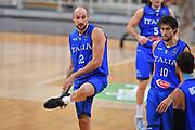 Marco Cusin<br /> Nazionale Italiana Maschile Senior<br /> Torneo dell Acropolis<br /> Georgia Italia Georgia Italy<br /> FIP 2017<br /> Atene, 25/08/2017<br /> Foto Ciamillo - Castoria / GiulioCiamillo