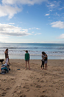veitgh & gatenby family photos at kuaotunu beach on the coromandel peninsula portraits by felicity jean photography
