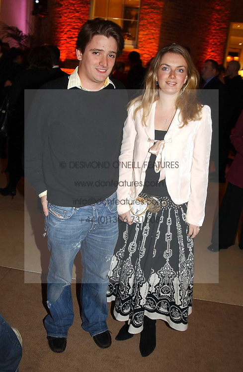 CHARLES HART and LADY SYBILLA RUFUS-ISAACS at a party to celebrate the 2nd anniversary of Quintessentially magazine held at Asprey, Bond Street, London on 24th February 2005.<br /><br />NON EXCLUSIVE - WORLD RIGHTS