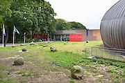 Nederland, Arnhem, 21-8-2014Nederlands Openluchtmuseum. De Zaanse Schans, oud Hollandse bouwkunst. Ingang,entreemtoegangFoto: Flip Franssen/Hollandse Hoogte