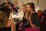 ROCIO LOWSON; EMILY BEAMISH; BRYONY DANIELS, The Royal Caledonian Ball 2015. Grosvenor House. Park Lane, London. 1 May 2015.
