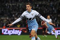 Esultanza Gol Miroslav Klose Lazio Goal celebration <br /> Roma 24-01-2015 Stadio Olimpico, Football Calcio Serie A Lazio - Milan. Foto Andrea Staccioli / Insidefoto