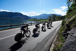 Cylance Pro Cycling at Giro Rosa 2018 - Stage 1, a 15.5 km team time trial in Verbania, Italy on July 6, 2018. Photo by Sean Robinson/velofocus.com