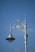 Decorative, vintage Dublin lamp post.