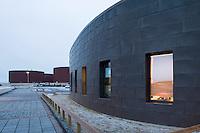 Ingunnarskóli, Maríubaug 1 Reykjavík. Ljósmyndað fyrir Borgarverkfræðing í tengslum við vígslu skólans 2. desember 2005.