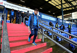 Dominic Telford of Bristol Rovers arrives at The Sportsdirect.com Park for the fixture against Oldham Athletic - Mandatory by-line: Robbie Stephenson/JMP - 30/12/2017 - FOOTBALL - Sportsdirect.com Park - Oldham, England - Oldham Athletic v Bristol Rovers - Sky Bet League One