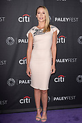 "ANNA CAMP attends the NBC Presentation of ""Perfect Harmony"" at the 2019 PaleyFest Fall TV Previews at the Paley Center for Media in Beverly Hills, California"