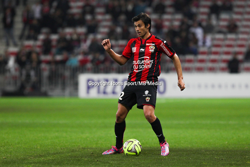 Dario CVITANICH - 03.12.2014 - Nice / Rennes - 16eme journee de Ligue 1 -<br /> Photo : Jean Christophe Magnenet / Icon Sport