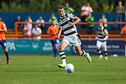 Forest Green Rovers Christian Doidge (9) during the Vanarama National League match between Braintree Town and Forest Green Rovers at the Amlin Stadium, Braintree, United Kingdom on 24 September 2016. Photo by Shane Healey.