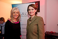 At the opening of Galway Rape Crisis Centre's new premises by Garry Hynes of Druid (and newly appointed Patron) of the GRCC were Carmel Dooley Mervue, and Aoibheann McCann GRCC Executive Director. Picture:Andrew Downes.