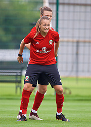 NEWPORT, WALES - Monday, June 4, 2018: Wales' Kayleigh Green during a training session at Dragon Park ahead of the FIFA Women's World Cup 2019 Qualifying Round Group 1 match against Bosnia and Herzegovina. (Pic by David Rawcliffe/Propaganda)