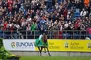 Scott Brash - Hello Sanctos<br /> World Equestrian Festival, CHIO Aachen 2015<br /> © DigiShots