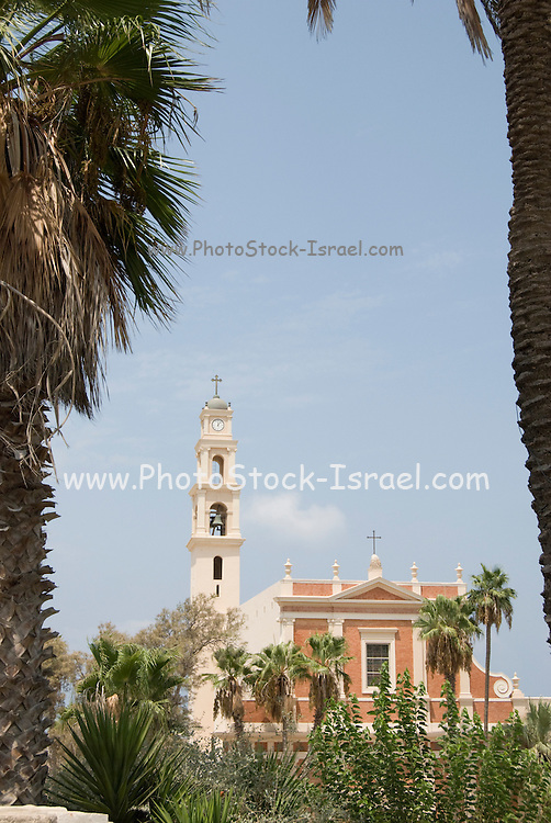 Israel, Tel Aviv-Jaffa, St Peter church in the old city of Jaffa