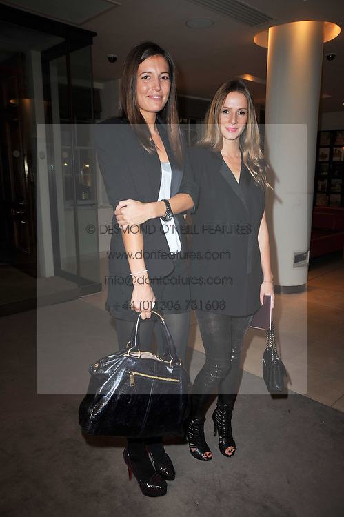 Left to right, AMANDA SHEPPARD and AMANDA CROSSLEY at the Krug Mindshare Charity Auction held at Christie's, 8 King Street, London SW1 on November 2009.