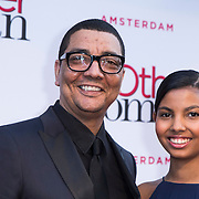 NLD/Amsterdam//20140401 - Filmpremiere The Other Woman, Jorgen Raymann en dochter