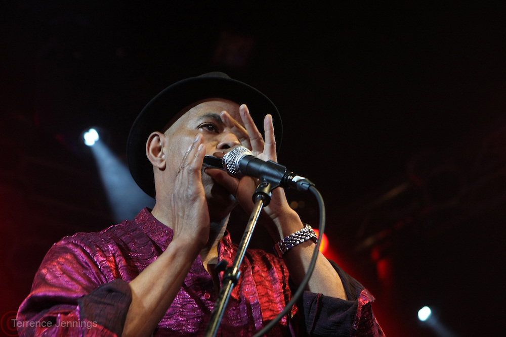 January 11, 2013-New York, NY- Recording Artist Guy Davis performs at the 2nd Annual Indelible Festival Produced by Jill Newman Productions and held at Highline Ballroom on January 11, 2013 in New York City.