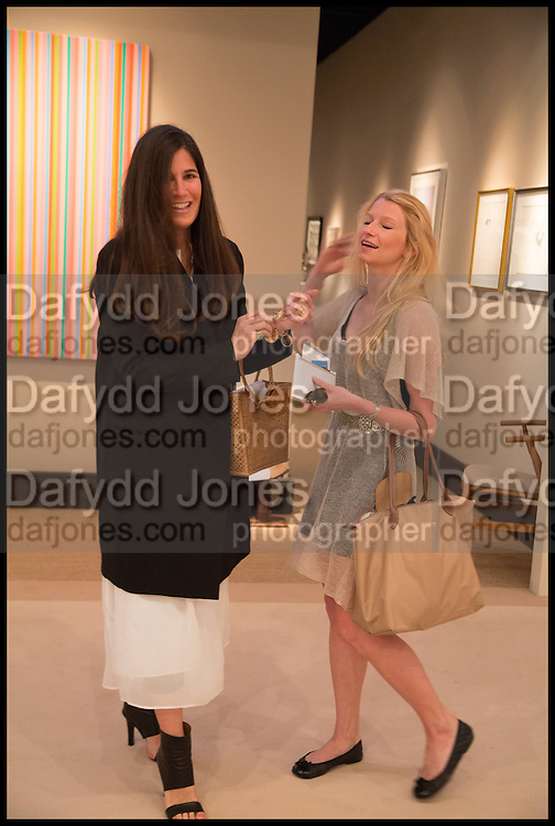 ELIZABETH SALTZMAN; CHARLEY GLOERFELT, Masterpiece London 2014 Preview. The Royal Hospital, Chelsea. London. 25 June 2014.