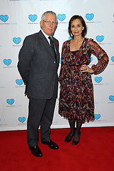 Nick Hewer with Kristin Scott Thomas during the premiere of 'Finding Family', London, United Kingdom. Tuesday, 5th November 2013. Picture by Chris Joseph / i-Images
