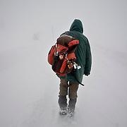 Europa, Deutschland, Sachsen-Anhalt, Harz, Brocken. Benno Schmidt alias Brocken-Benno hat bis zum Tag der Aufnahmen den Brocken 5.927 Mal bestiegen. Am 22.Mai 2010 ist sein 78. Geburtstag, dann will er sich zum 6.000 Mal einen Stempel beim Brockenwirt abholen.<br /> Europe, Germany, Saxony-Anhalt, Harz, Mountain Brocken. Benno Schmidt alias Brocken-Benno climbs the Mountain Brocken 5,927 times. At the 22. May he wants to climb at 6,000 tir J&mdash;&Aring;&int;R ~&amp;&acute;q&micro;