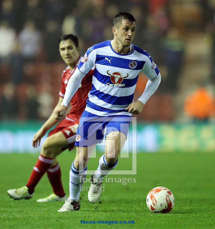 Andrew Taylor of Reading during the Sky Bet Championship match at the Riverside Stadium, Middlesbrough<br /> Picture by Simon Moore/Focus Images Ltd 07807 671782<br /> 12/04/2016