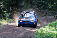 2019-09-07 | Linköping, Sweden: Stefan Alenmalm / Ida Bood during East Rally Sweden / Rally SM  at Linköping ( Photo by: Simon Holmgren | Swe Press Photo )<br /> <br /> Keywords: Linköping, Linköping, Rally, East Rally Sweden / Rally SM, ,