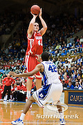 21 November 2009: Radford (40) Joey Lynch-Flohr senior F/center..Duke Rolls Past Radford 104-67 .Mandatory Credit: Mark Abbott / Southcreek Global