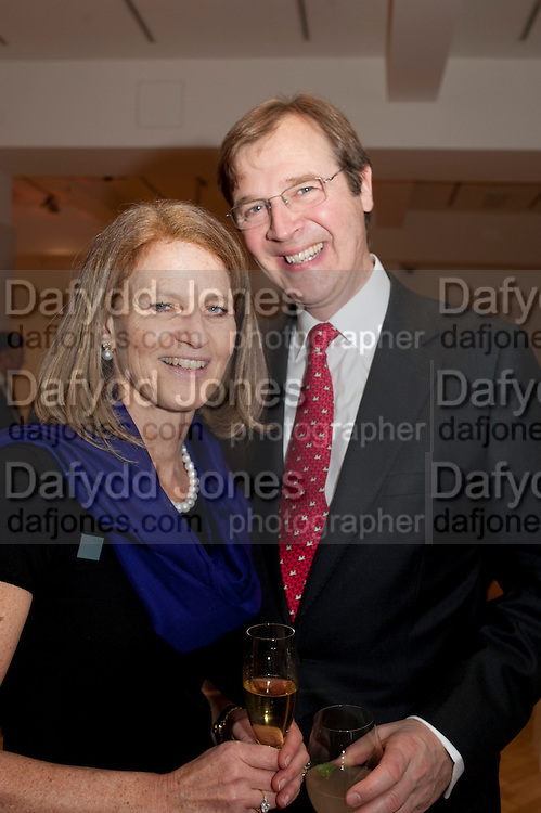 EVELYN BROOKS; ROBERT BROOKS; , Bonhams Auction house hosts festive drinks to preview the first phase of the reconstruction of its Mayfair Headquarters - due for completion in 2013.<br /> Bonhams, 101 New Bond Street, London, 19 December 2011.