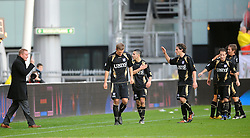 08-11-2009 VOETBAL: FC UTRECHT - HEERENVEEN: UTRECHT<br /> Utrecht verliest met 3-2 van Heerenveen / Een blije Jan de Jonge als Heerenveen op 2-0 komt door Michal Papadopulos<br /> ©2009-WWW.FOTOHOOGENDOORN.NL