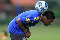 20090325: TERESOPOLIS, BRAZIL – Brazil National Team preparing match against Equador, at Teresopolis training center. In picture: Robinho. PHOTO: CITYFILES