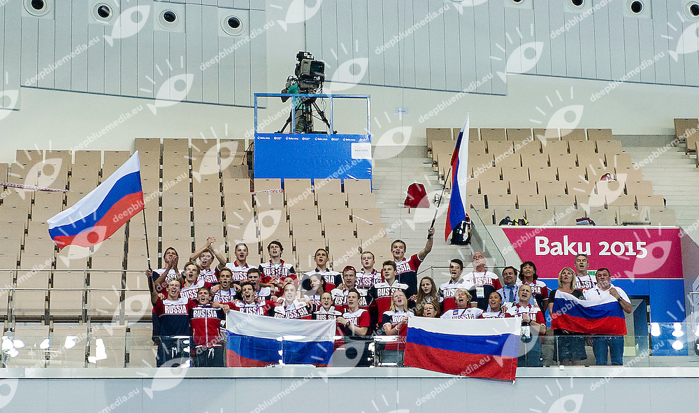 Russian Federation RUS<br /> 4X100 Relay Medley Final Swimming Gold Medal<br /> 1st European Olympic Games <br /> Baku Azerbaijan 12-28/08/2015<br /> Photo Andrea Masini/Deepbluemedia/Insidefoto