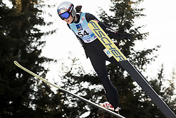 February 7, 2019 - Ljubno, Savinjska, Slovenia - Anna Odine Stroem of Norway competes on qualification day of the FIS Ski Jumping World Cup Ladies Ljubno on February 7, 2019 in Ljubno, Slovenia. (Credit Image: © Rok Rakun/Pacific Press via ZUMA Wire)