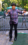 Roy Ayers poses at Central Park SummerStage on July 2, 2011 in New York City.