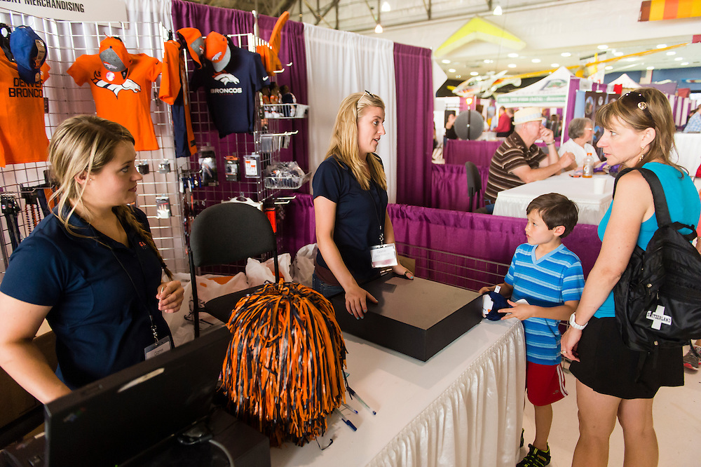 AURORA, CO - JUNE 14: Amazing Adventures Travel and Leisure Expo at Wings Over the Rockies Air and Space Museum on June 14, 2014 in Aurora, Colorado. (Photo by Daniel Petty/The Denver Post)