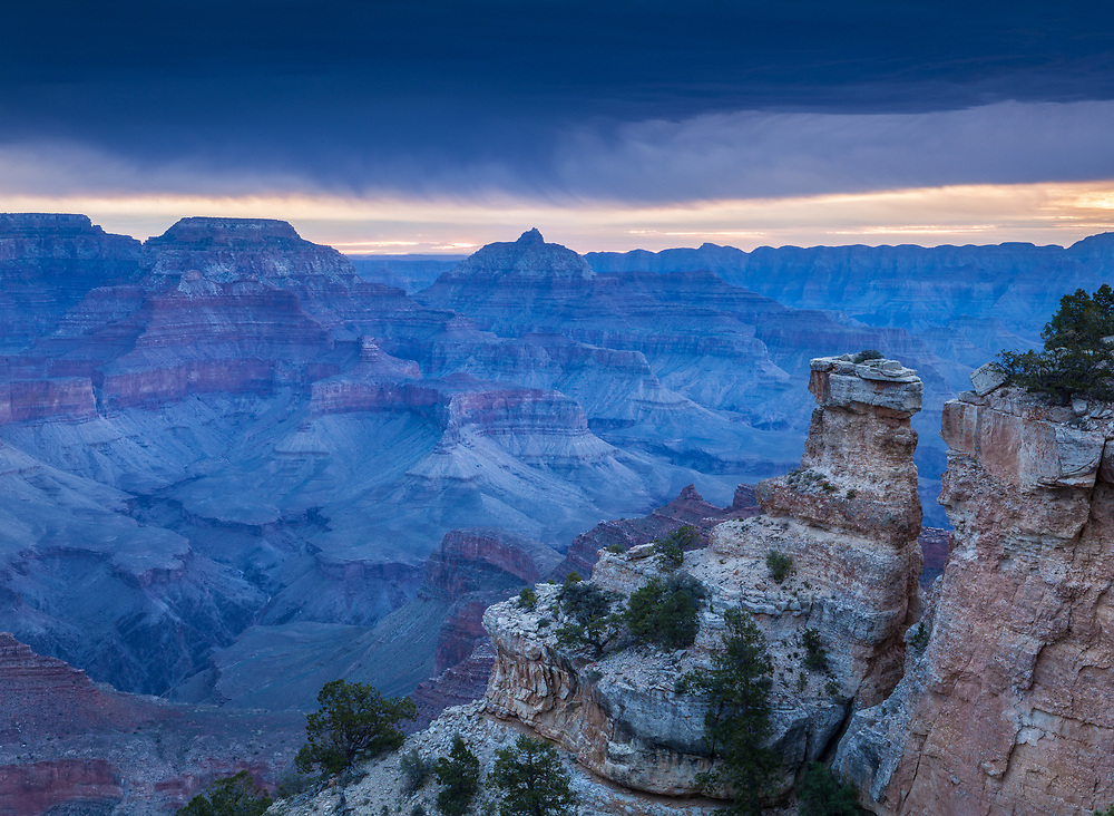 Grand Canyon from Yaki Point, South Rim, Arizona