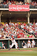 FAYETTEVILLE, AR - May 19:  Arkansas Razorback baseball game against the Auburn Tigers at Baum Stadium on the campus of the University of Arkansas on May 19, 2006 in Fayetteville, Arkansas.   (Photo by Wesley Hitt/Getty Images) *** Local Caption ***