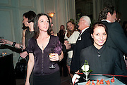 MARY MCCARTNEY, Dinner to mark 50 years with Vogue for David Bailey, hosted by Alexandra Shulman. Claridge's. London. 11 May 2010 *** Local Caption *** -DO NOT ARCHIVE-© Copyright Photograph by Dafydd Jones. 248 Clapham Rd. London SW9 0PZ. Tel 0207 820 0771. www.dafjones.com.<br /> MARY MCCARTNEY, Dinner to mark 50 years with Vogue for David Bailey, hosted by Alexandra Shulman. Claridge's. London. 11 May 2010