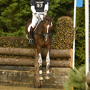William Fox-Pitt (GBR) and Ballincoola at the 2007 Land Rover Burghley Horse Trials held in Stamford, England