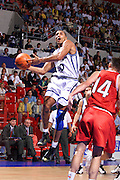 Francia 27/06/1999<br /> Campionati Europei di Basket Francia 1999<br /> Italia-Rep. Ceka<br /> Carlton Myers