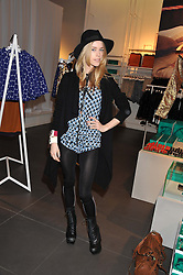 MARY CHARTERIS at the Launch Of The Marni For H&M Collection held at H&M Regent Street, London on 7th March 2012.