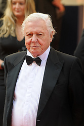© Licensed to London News Pictures. 18/05/2014. London, UK. The Arqiva BAFTA TV Awards Red Carpet Arrivals. . Persons Pictured: David Attenborough. Photo credit : Julie Edwards/LNP