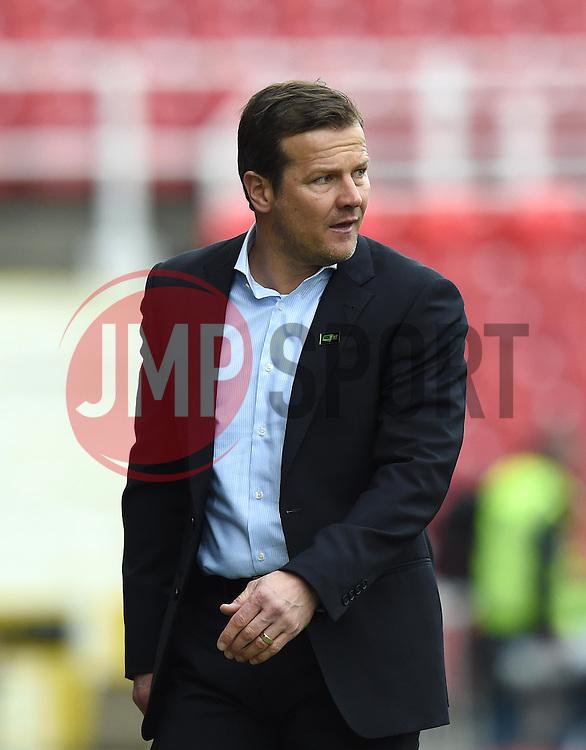 Swindon Town Manager, Mark Cooper - Photo mandatory by-line: Paul Knight/JMP - Mobile: 07966 386802 - 04/04/2015 - SPORT - Football - Swindon - The County Ground - Swindon Town v Milton Keynes Dons - Sky Bet League One